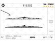 List stěrače SWF 116352