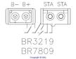 Regulátor dobíjení + usměrňovač - Briggs Stratton  397809