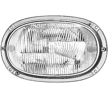Hlavní světlomet HELLA 1AG 001 108-511