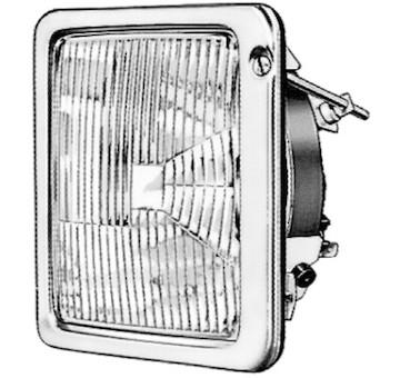 Hlavní světlomet HELLA 1AB 001 100-001