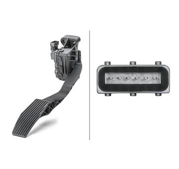 Senzor, poloha akceleracniho pedalu HELLA 6PV 010 946-031