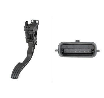 Senzor, poloha akceleracniho pedalu HELLA 6PV 010 946-201