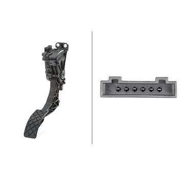 Senzor, poloha akceleracniho pedalu HELLA 6PV 008 496-701