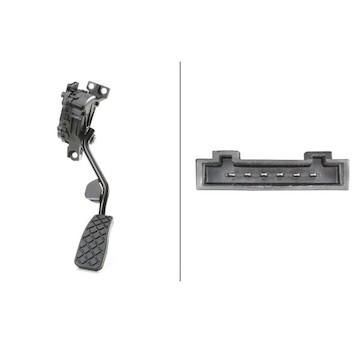 Senzor, poloha akceleracniho pedalu HELLA 6PV 008 026-701