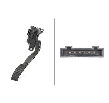 Senzor, poloha akceleracniho pedalu HELLA 6PV 008 376-701