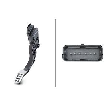 Senzor, poloha akceleracniho pedalu HELLA 6PV 009 949-731