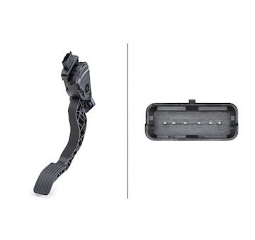 Senzor, poloha akceleracniho pedalu HELLA 6PV 009 949-831