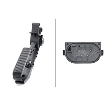 Senzor, poloha akceleracniho pedalu HELLA 6PV 010 946-481