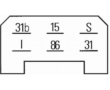 Relé, interval stírání / ostřikování HELLA 5WG 002 450-291