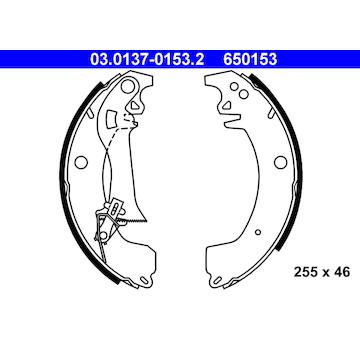 Sada brzdových čelistí ATE 03.0137-0153.2
