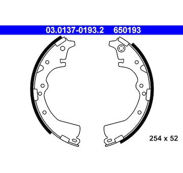 Sada brzdových čelistí ATE 03.0137-0193.2