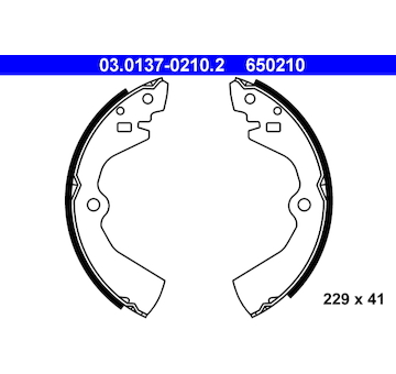 Sada brzdových čelistí ATE 03.0137-0210.2