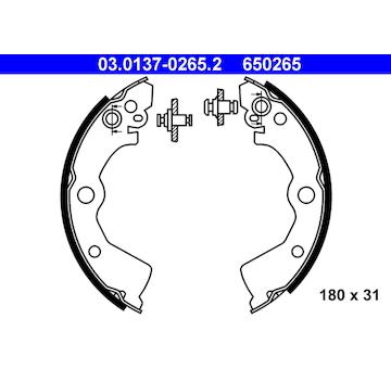 Sada brzdových čelistí ATE 03.0137-0265.2