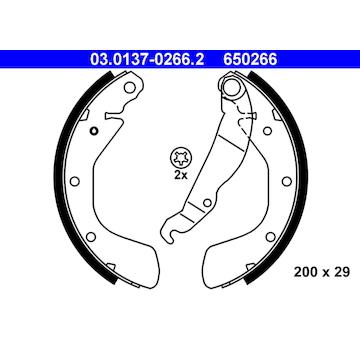 Sada brzdových čelistí ATE 03.0137-0266.2