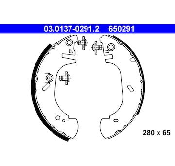 Sada brzdových čelistí ATE 03.0137-0291.2
