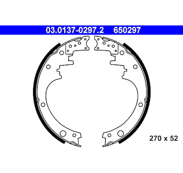 Sada brzdových čelistí ATE 03.0137-0297.2