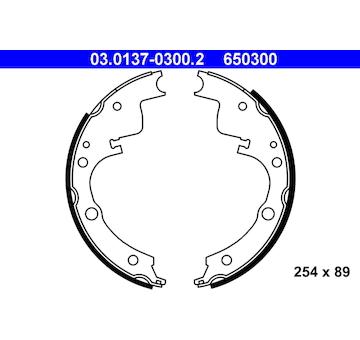 Sada brzdových čelistí ATE 03.0137-0300.2