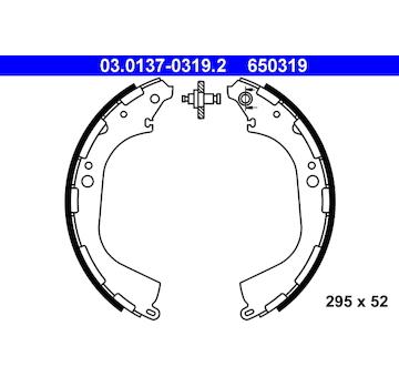 Sada brzdových čelistí ATE 03.0137-0319.2