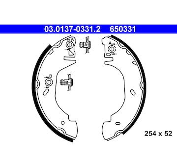 Sada brzdových čelistí ATE 03.0137-0331.2