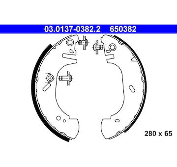 Sada brzdových čelistí ATE 03.0137-0382.2