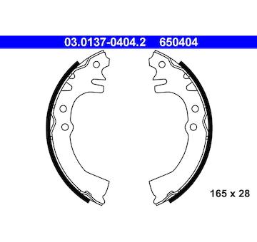 Sada brzdových čelistí ATE 03.0137-0404.2