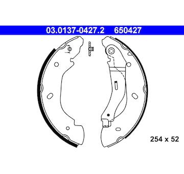 Sada brzdových čelistí ATE 03.0137-0427.2