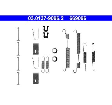 Sada prislusenstvi, brzdove celisti ATE 03.0137-9096.2