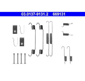 Sada prislusenstvi, brzdove celisti ATE 03.0137-9131.2