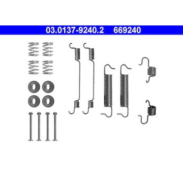 Sada prislusenstvi, brzdove celisti ATE 03.0137-9240.2