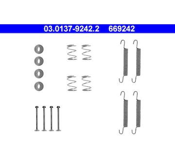 Sada prislusenstvi, parkovaci brzdove celisti ATE 03.0137-9242.2