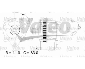 generátor VALEO 436694