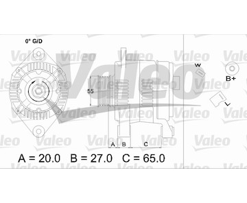 generátor VALEO 436697