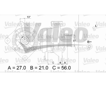 generátor VALEO 436702
