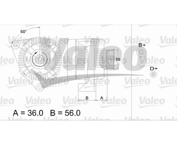 generátor VALEO 436718