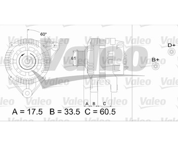 generátor VALEO 436719
