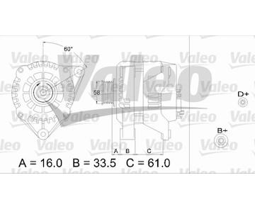 generátor VALEO 436720