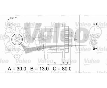 generátor VALEO 436724