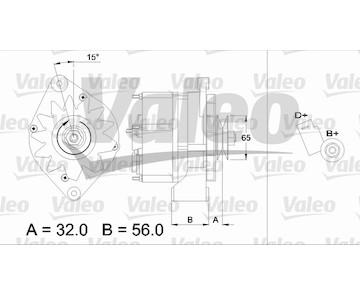 generátor VALEO 436726