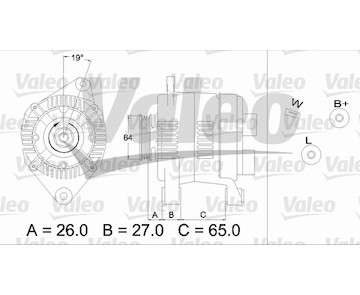 generátor VALEO 436737