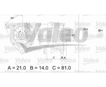 generátor VALEO 436744