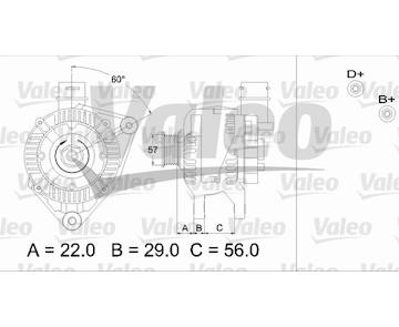 generátor VALEO 436751