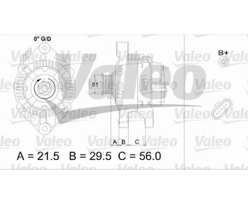 generátor VALEO 436752