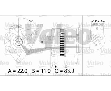 generátor VALEO 437051