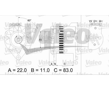 generátor VALEO 437052