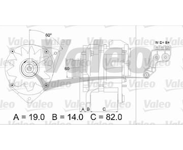 generátor VALEO 437081