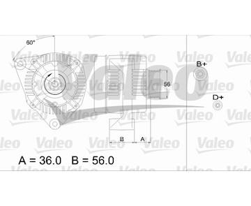 generátor VALEO 437126