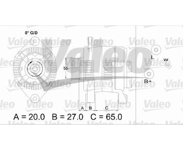 generátor VALEO 437140