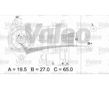 generátor VALEO 437142
