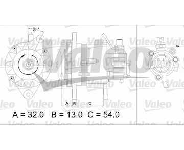 generátor VALEO 437143
