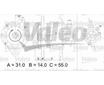 generátor VALEO 437145